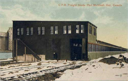 Image of freight sheds