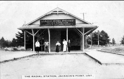 Jacksons Point TYR Station